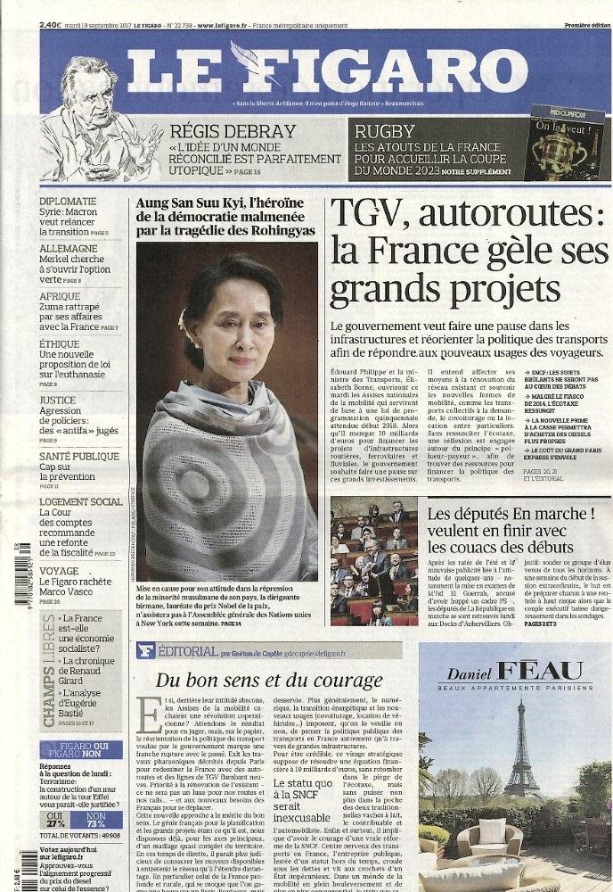Le Figaro N° 919 Septembre 2017