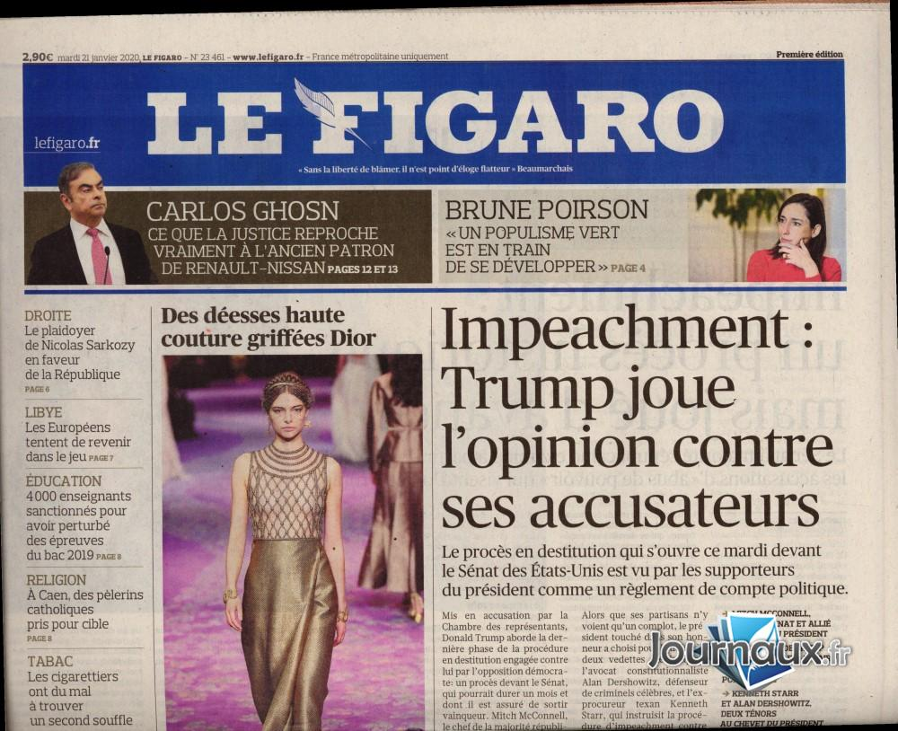 Le Figaro N° 121 Janvier 2020