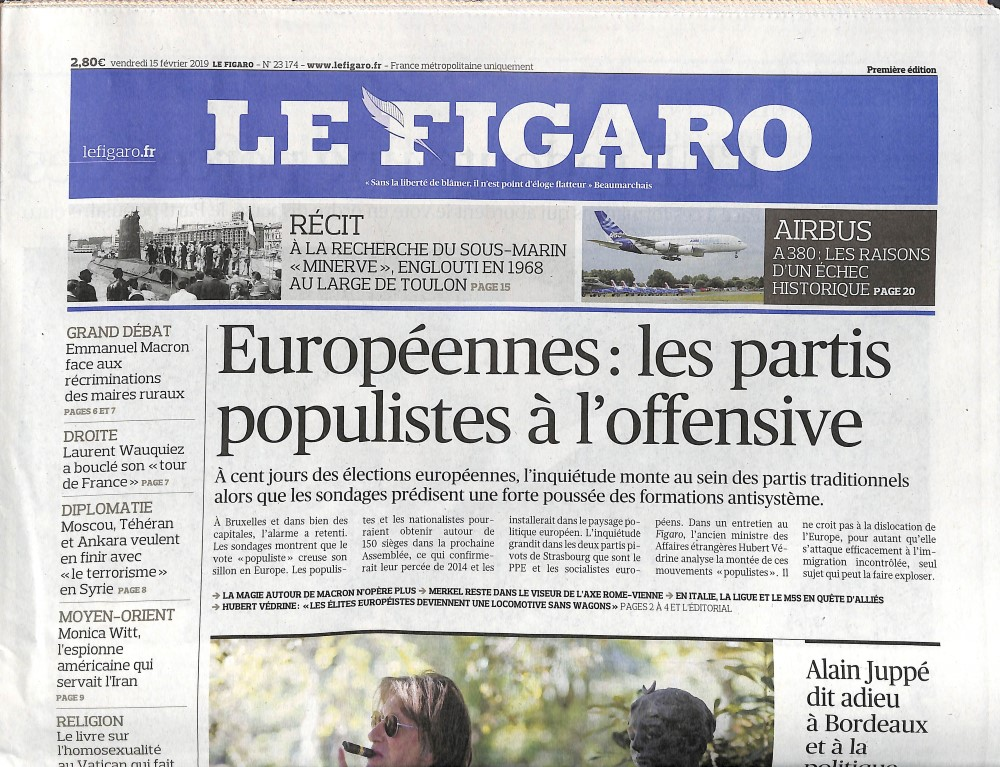 Le Figaro N° 215 Février 2019