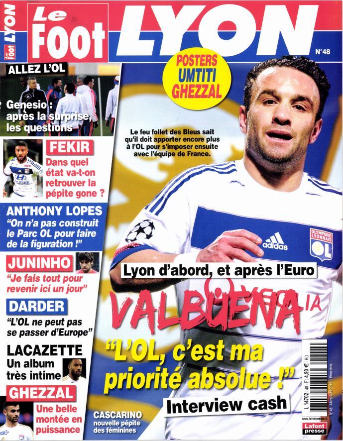 Le Foot Lyon magazine N° 70 Novembre 2019