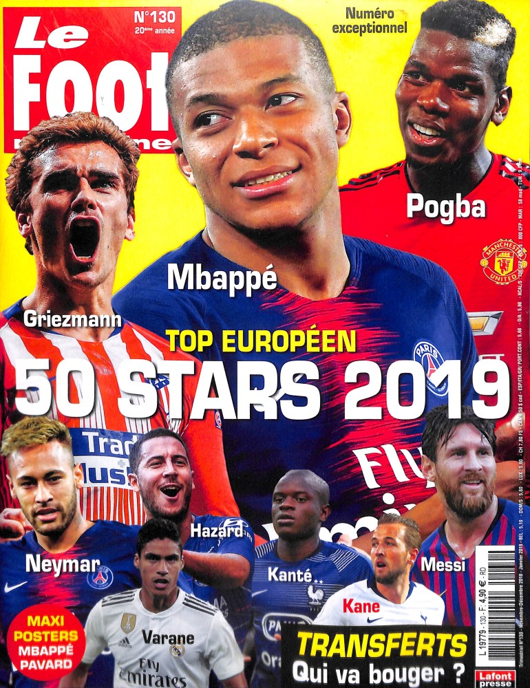 Le Foot Magazine N° 130 November 2018