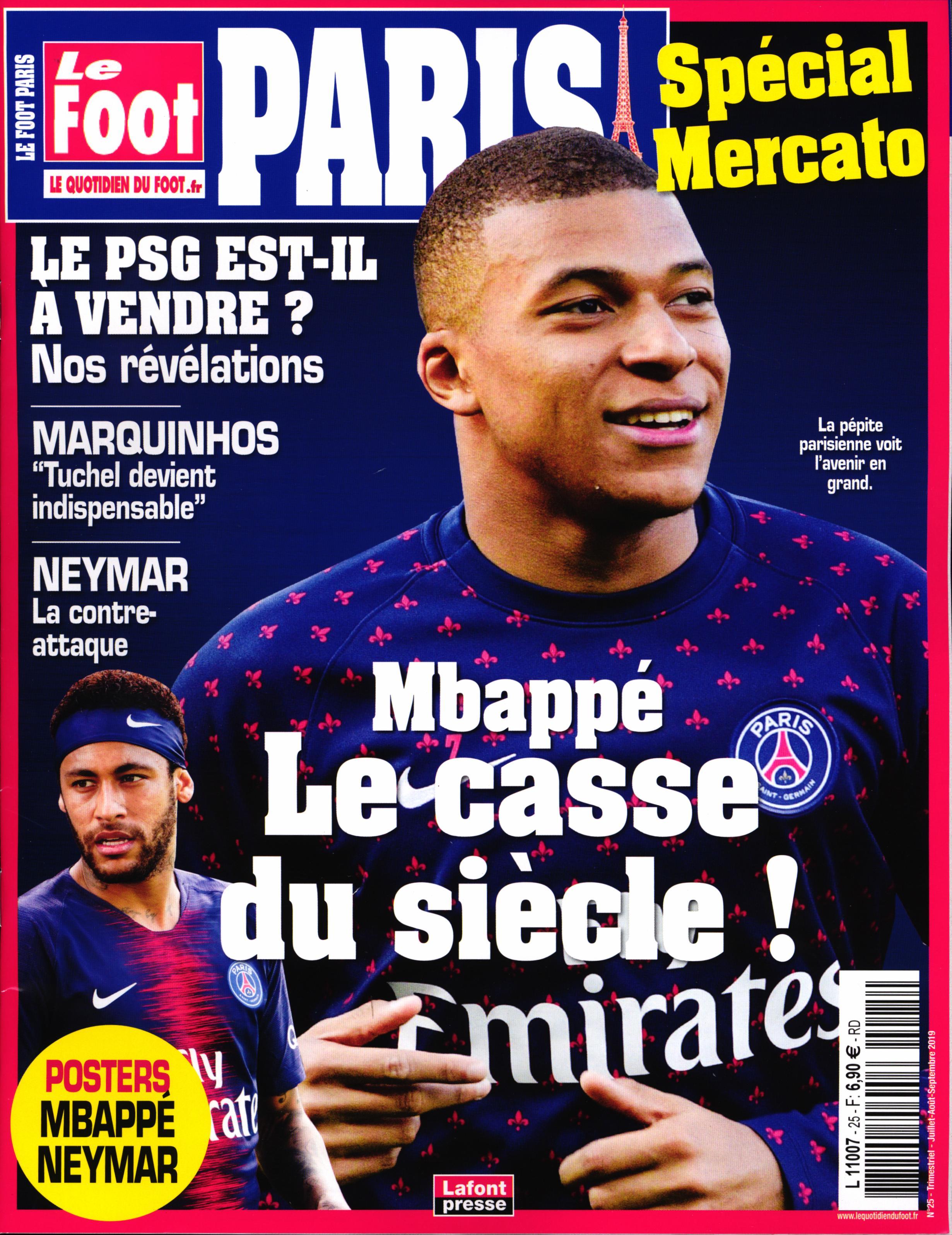 Le Foot Paris Magazine N° 25 Juin 2019