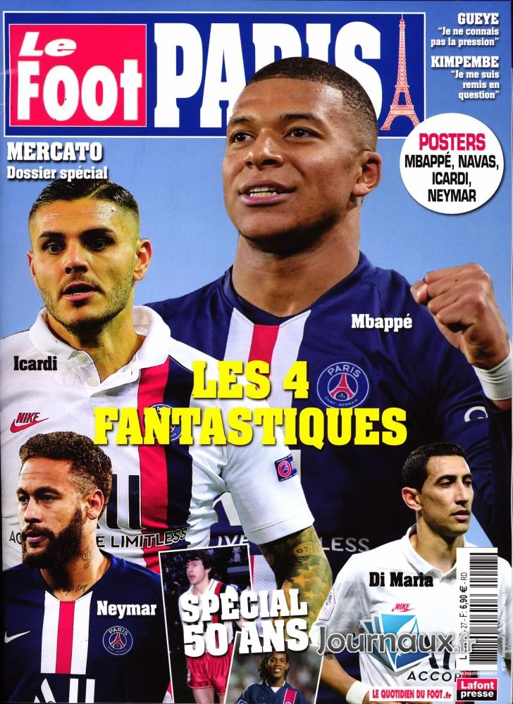 Le Foot Paris Magazine N° 27 Décembre 2019
