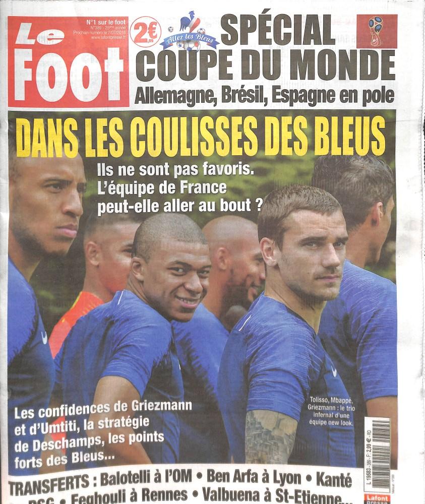 Le foot N° 389 June 2018