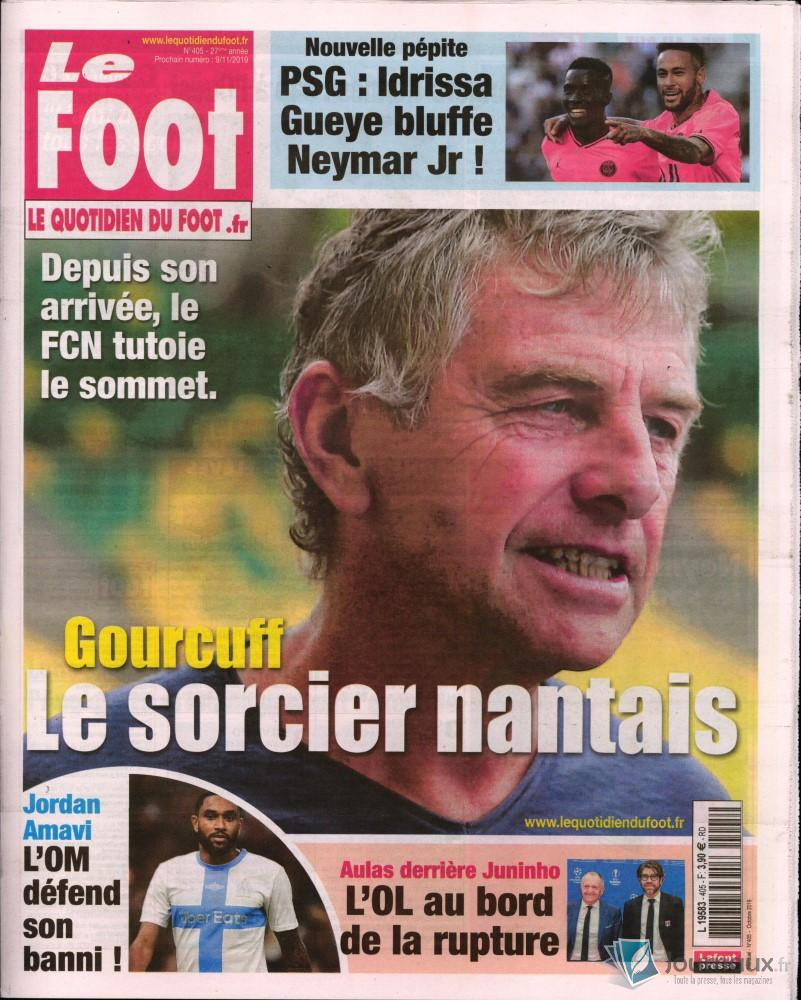 Le foot N° 405 Octobre 2019