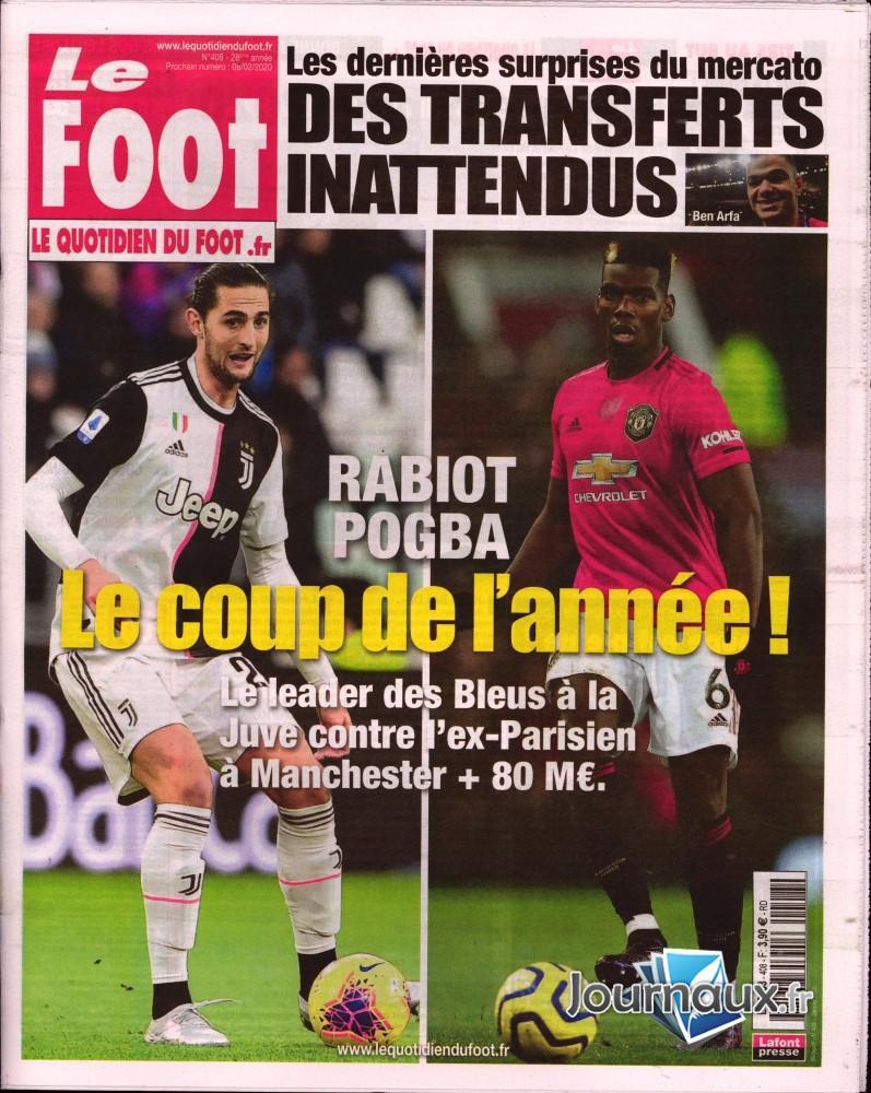 Le foot N° 408 Janvier 2020