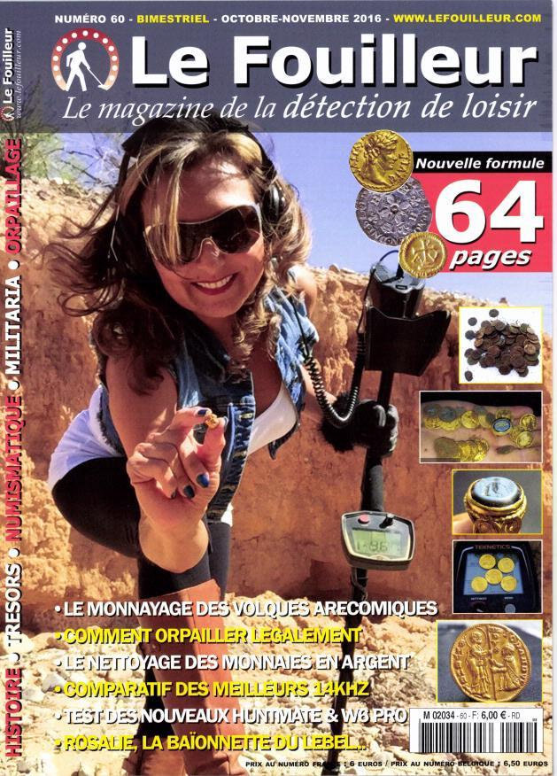 Abonnement le fouilleur magazine