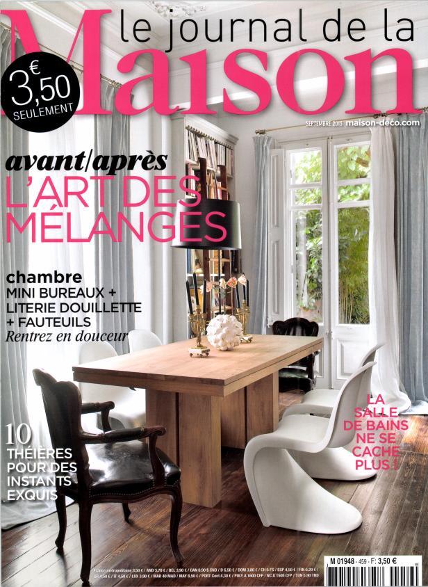 le journal de la maison n 459 abonnement le journal de. Black Bedroom Furniture Sets. Home Design Ideas