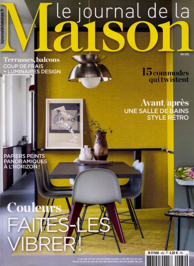 le journal de la maison n 482 abonnement le journal de. Black Bedroom Furniture Sets. Home Design Ideas