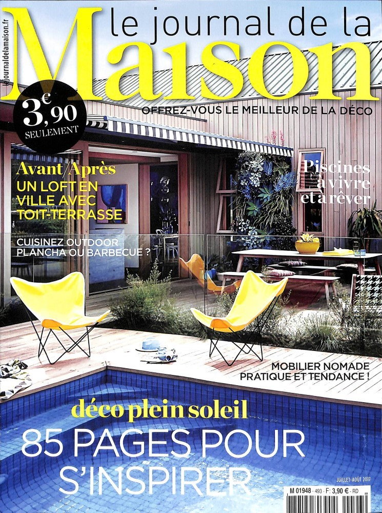 Le journal de la maison n 493 abonnement le journal de for Abonnement le journal de la maison