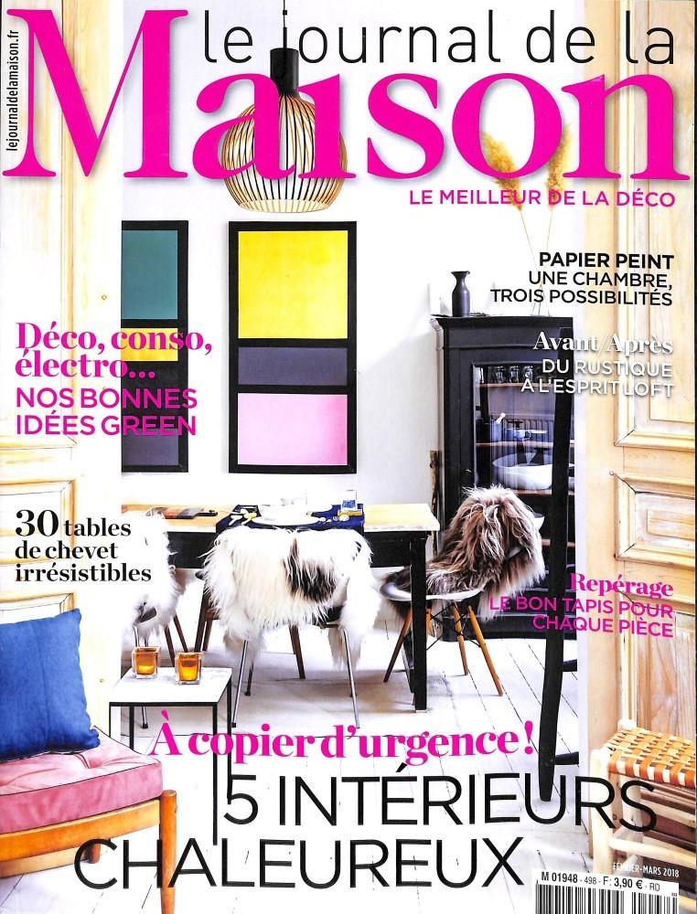 Abonnement le journal de la maison abonnement magazine for Journal decoration maison