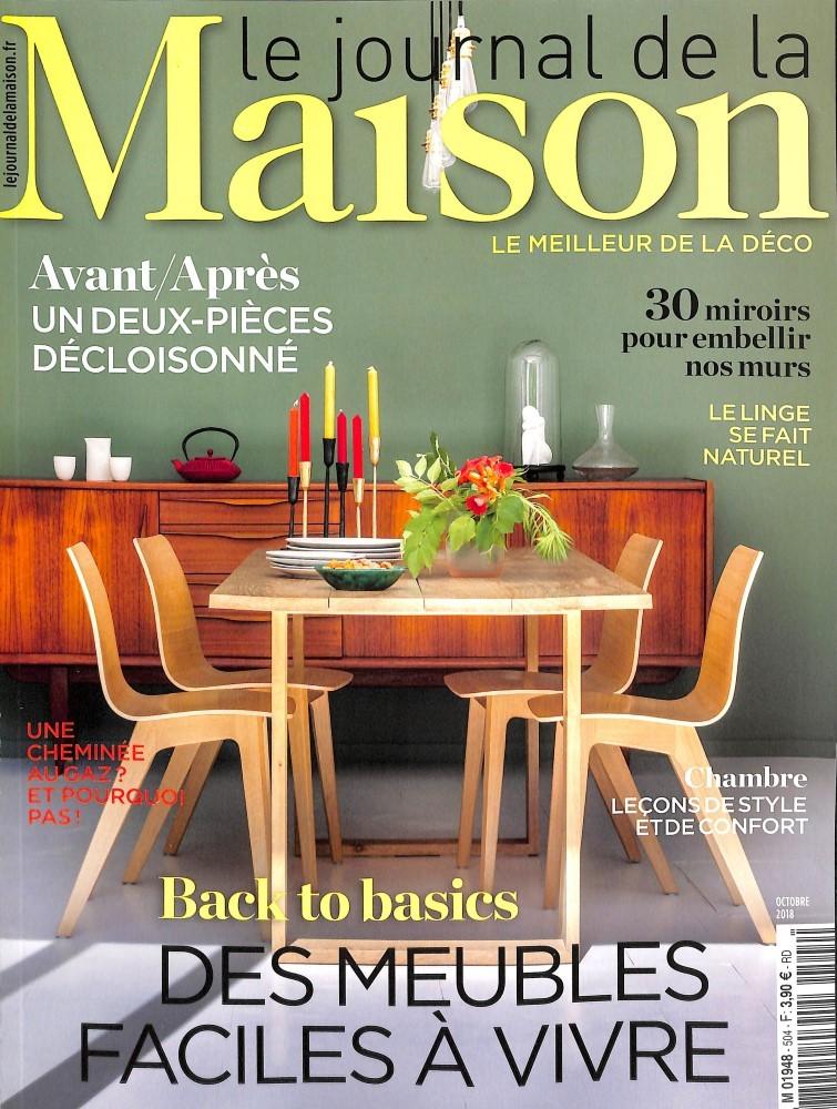 abonnement le journal de la maison abonnement magazine. Black Bedroom Furniture Sets. Home Design Ideas