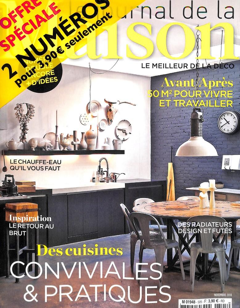 Le journal de la maison N° 505 October 2018