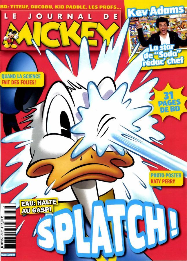le journal de mickey n 3125 abonnement le journal de mickey abonnement magazine par. Black Bedroom Furniture Sets. Home Design Ideas