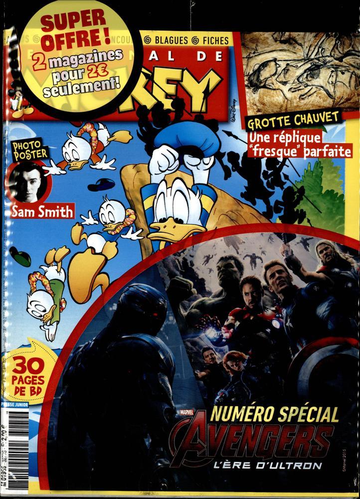 le journal de mickey n 3279 abonnement le journal de mickey abonnement magazine par. Black Bedroom Furniture Sets. Home Design Ideas