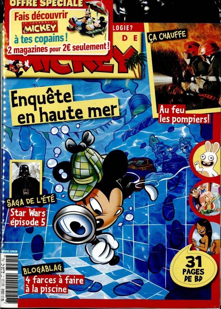 le journal de mickey n 3295 abonnement le journal de mickey abonnement magazine par. Black Bedroom Furniture Sets. Home Design Ideas