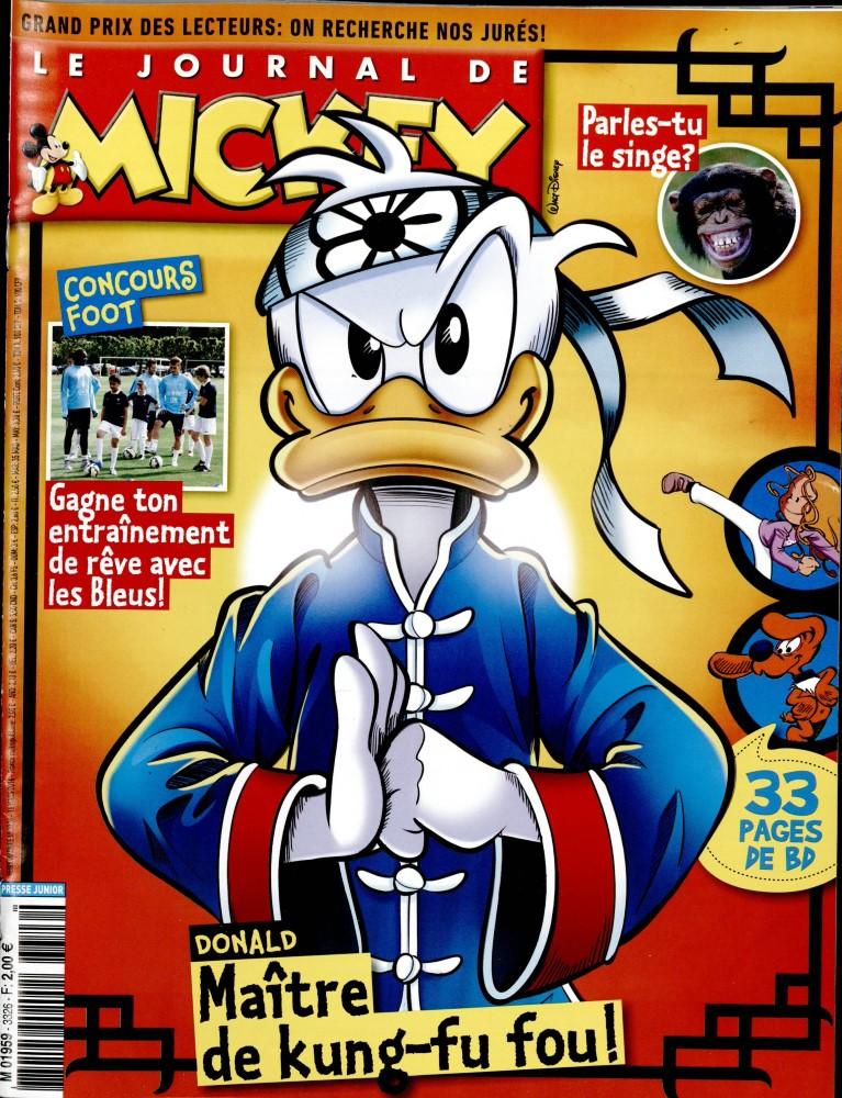 le journal de mickey n 3326 abonnement le journal de mickey abonnement magazine par. Black Bedroom Furniture Sets. Home Design Ideas