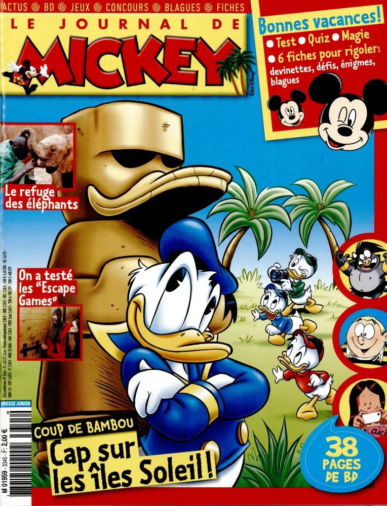 Le Journal de Mickey N° 3345 Juillet 2016