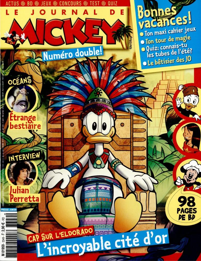 le journal de mickey n 3349 abonnement le journal de mickey abonnement magazine par. Black Bedroom Furniture Sets. Home Design Ideas