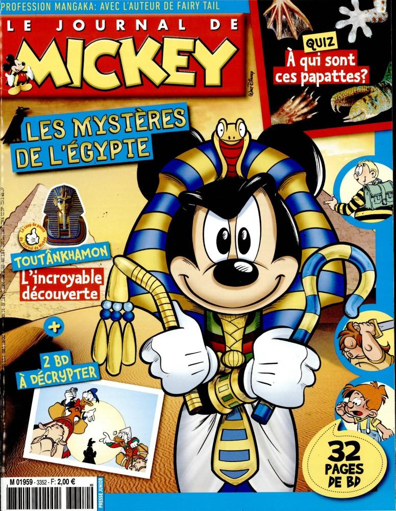 le journal de mickey n 3352 abonnement le journal de mickey abonnement magazine par. Black Bedroom Furniture Sets. Home Design Ideas