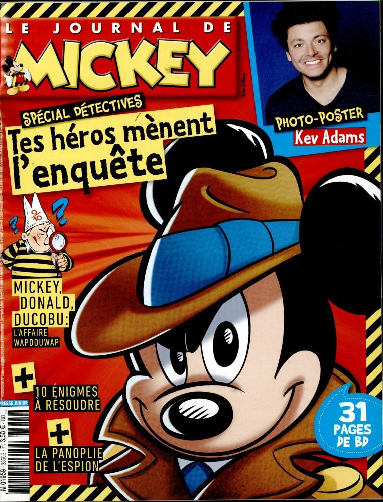 le journal de mickey n 3355 abonnement le journal de mickey abonnement magazine par. Black Bedroom Furniture Sets. Home Design Ideas