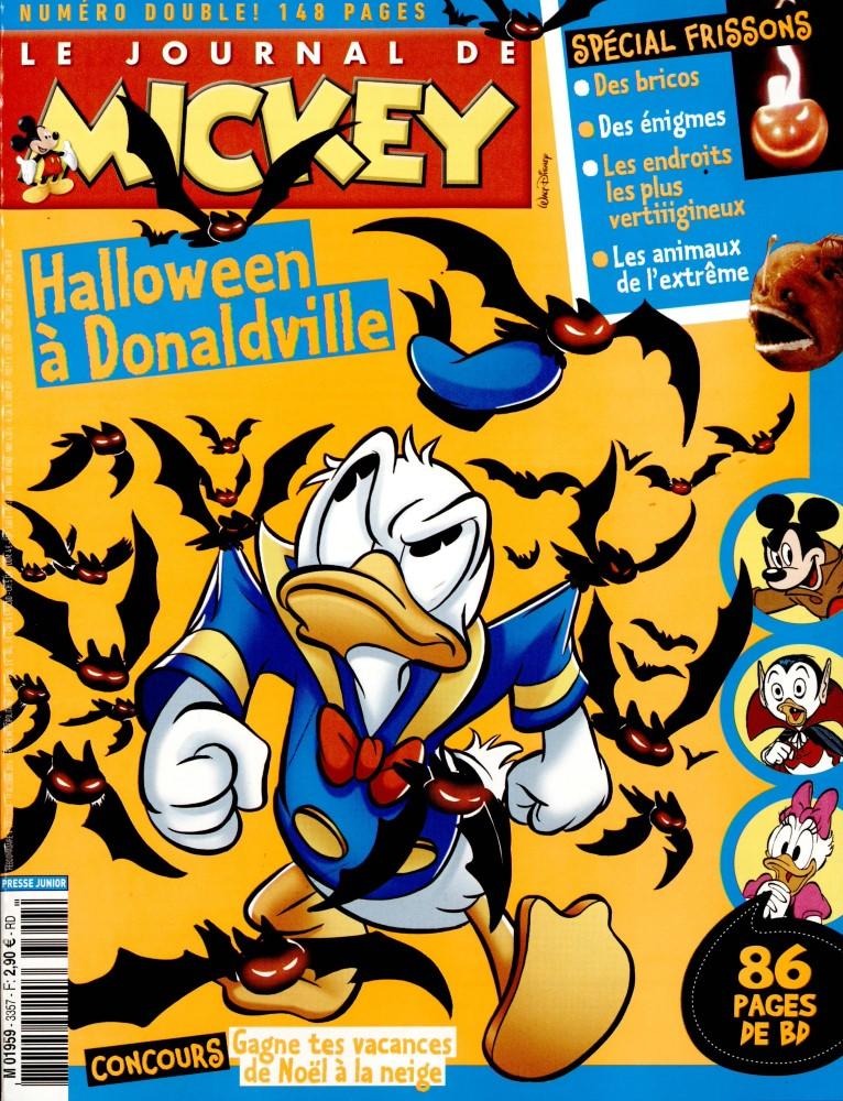 Le Journal de Mickey N° 3357 Octobre 2016