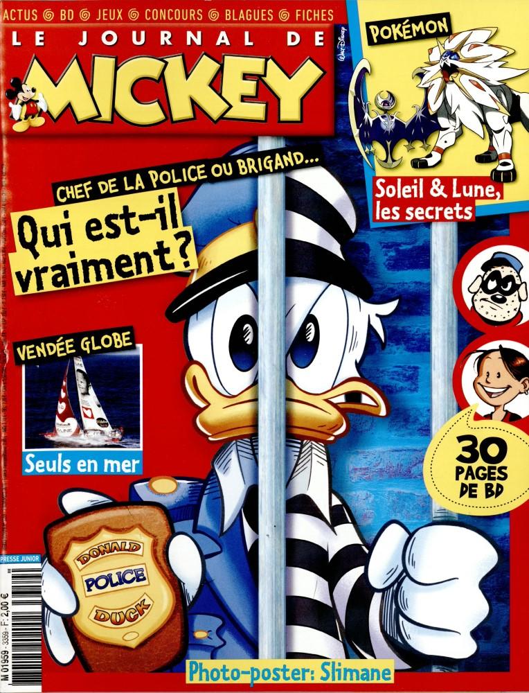 le journal de mickey n 3359 abonnement le journal de mickey abonnement magazine par. Black Bedroom Furniture Sets. Home Design Ideas