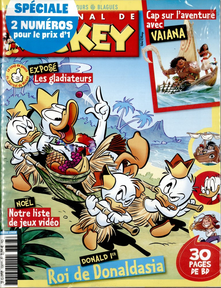 le journal de mickey n 3363 abonnement le journal de mickey abonnement magazine par. Black Bedroom Furniture Sets. Home Design Ideas