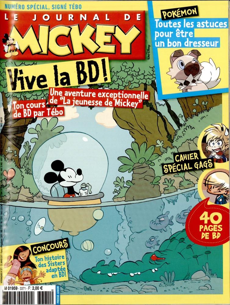 le journal de mickey n 3371 abonnement le journal de mickey abonnement magazine par. Black Bedroom Furniture Sets. Home Design Ideas