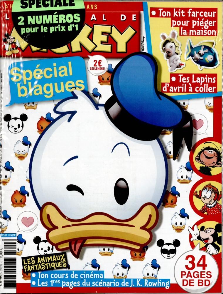 le journal de mickey n 3380 abonnement le journal de mickey abonnement magazine par. Black Bedroom Furniture Sets. Home Design Ideas