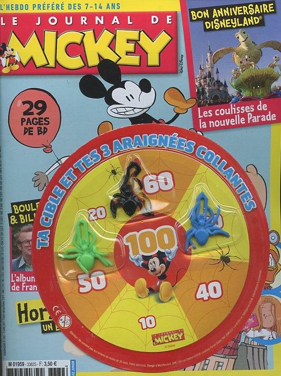 le journal de mickey n 3382 abonnement le journal de mickey abonnement magazine par. Black Bedroom Furniture Sets. Home Design Ideas