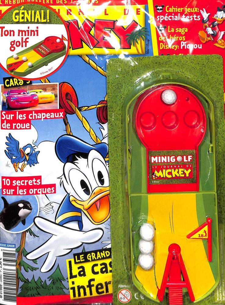le journal de mickey n 3398 abonnement le journal de mickey abonnement magazine par. Black Bedroom Furniture Sets. Home Design Ideas
