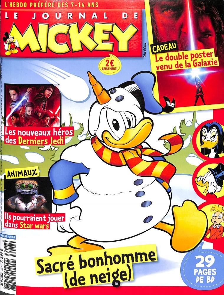 le journal de mickey n 3417 abonnement le journal de mickey abonnement magazine par. Black Bedroom Furniture Sets. Home Design Ideas