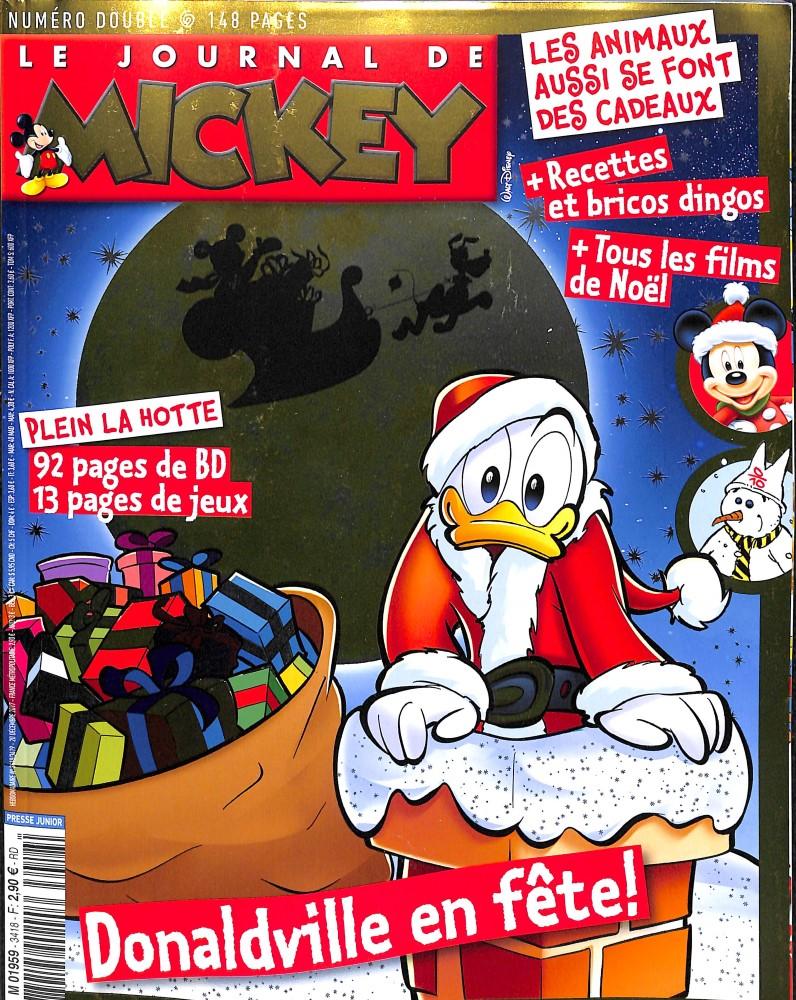 le journal de mickey n 3418 abonnement le journal de mickey abonnement magazine par. Black Bedroom Furniture Sets. Home Design Ideas