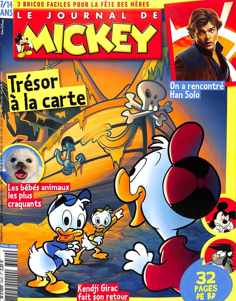 Le Journal de Mickey N° 3440 May 2018