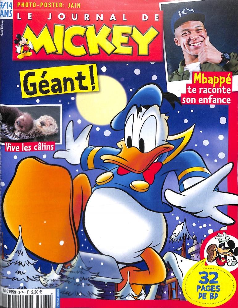 le journal de mickey n 3474 abonnement le journal de mickey abonnement magazine par. Black Bedroom Furniture Sets. Home Design Ideas