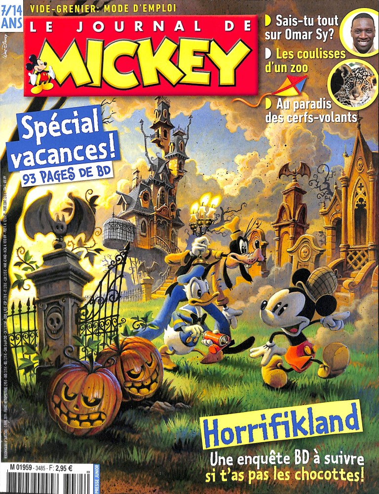 Le Journal de Mickey N° 3487 Avril 2019