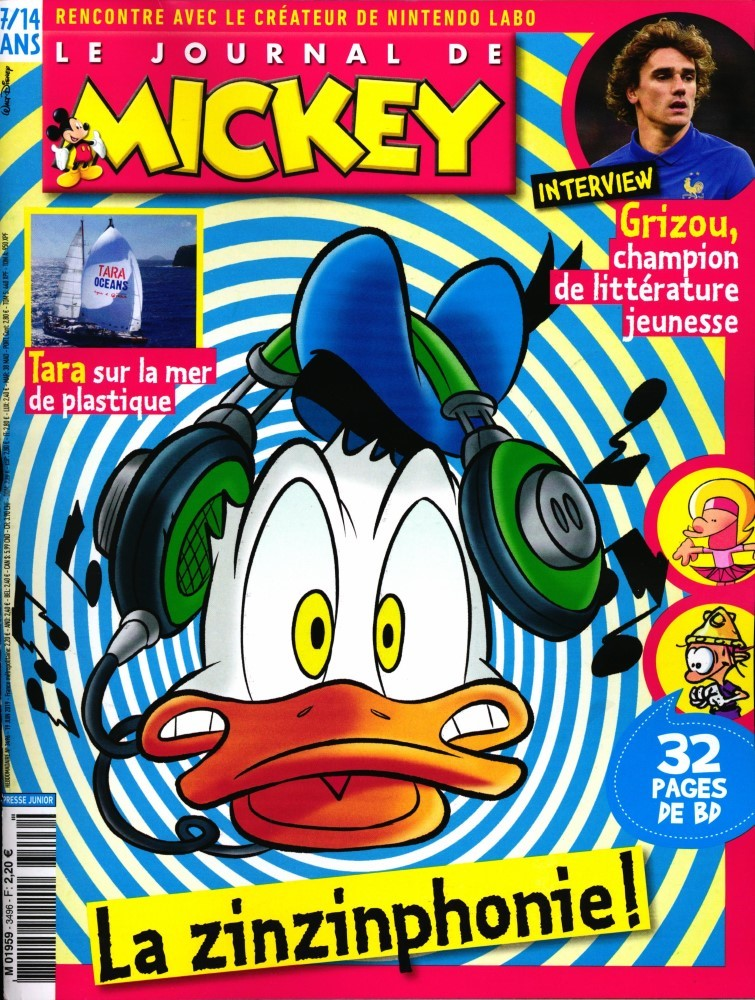 Le Journal de Mickey N° 3496 Juin 2019