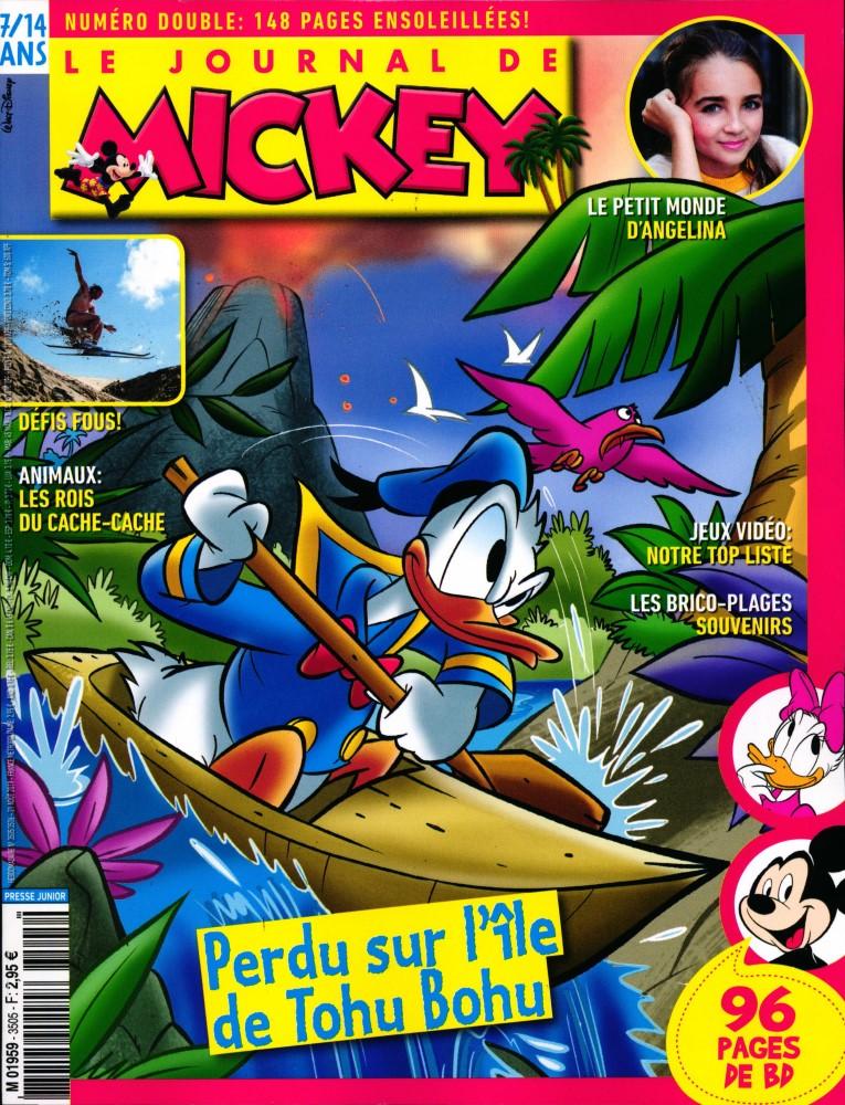 Le Journal de Mickey N° 3505 Août 2019