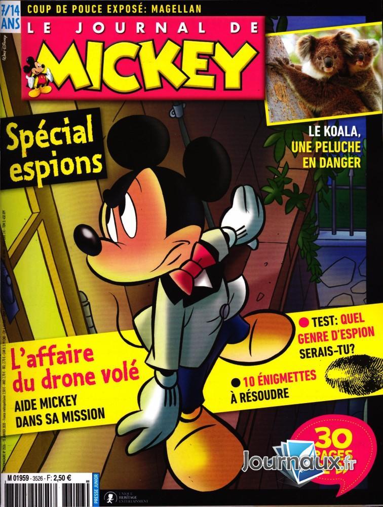 Le Journal de Mickey N° 3527 Janvier 2020