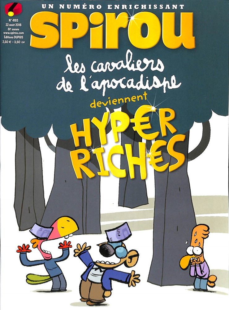 Le journal de Spirou N° 4193 August 2018