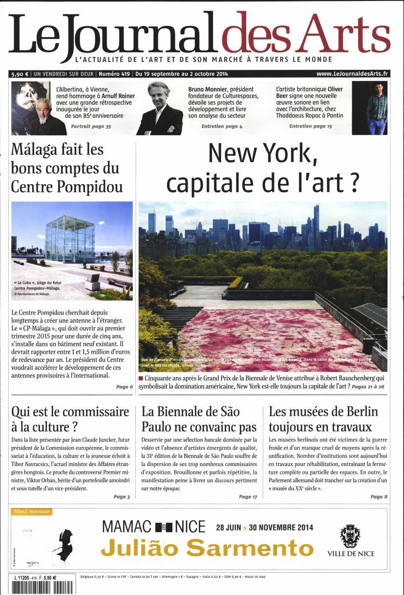 Le Journal des Arts N° 524 Mai 2019