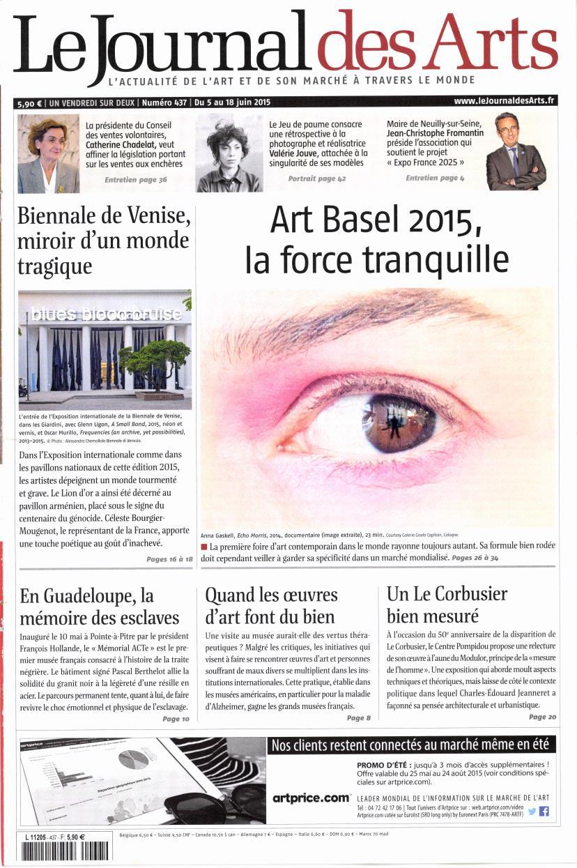 Le Journal des Arts N° 519 Mars 2019