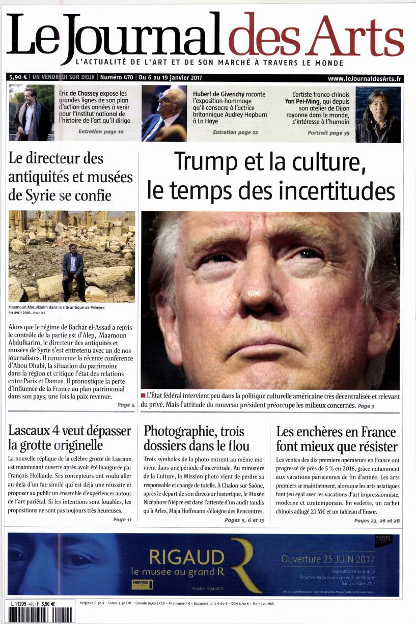 Le Journal des Arts N° 527 Juillet 2019
