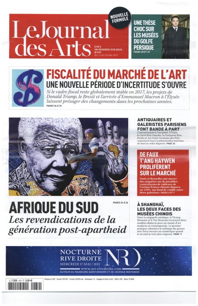 Le Journal des Arts N° 479 Mai 2017