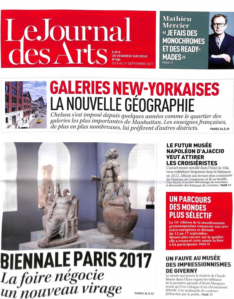 Le Journal des Arts N° 484 Septembre 2017