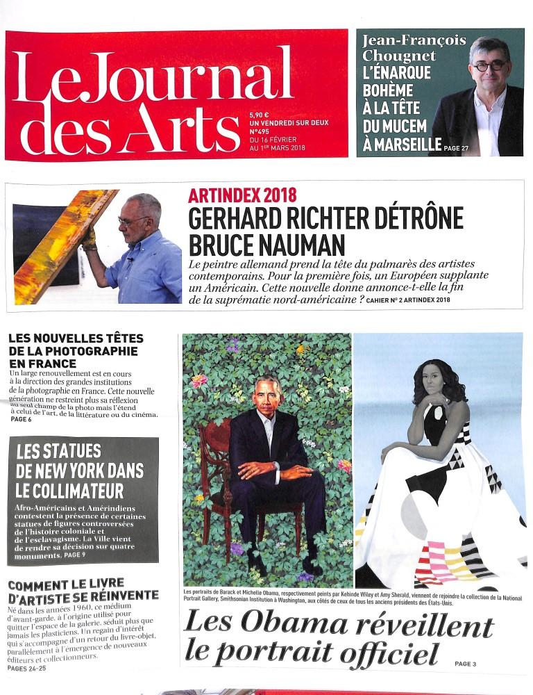 Le Journal des Arts N° 495 February 2018