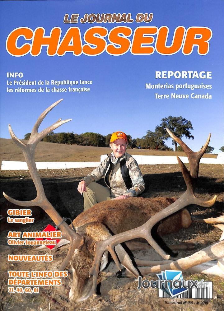 Le Journal du chasseur N° 186 Juin 2018