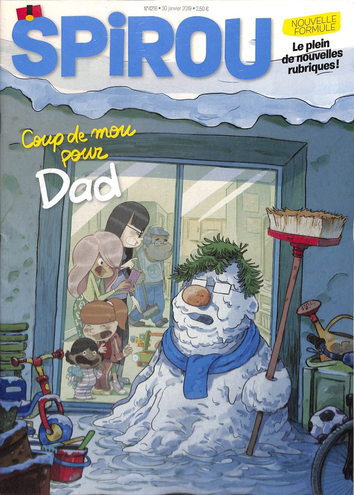 Le journal Spirou N° 4271 Février 2020