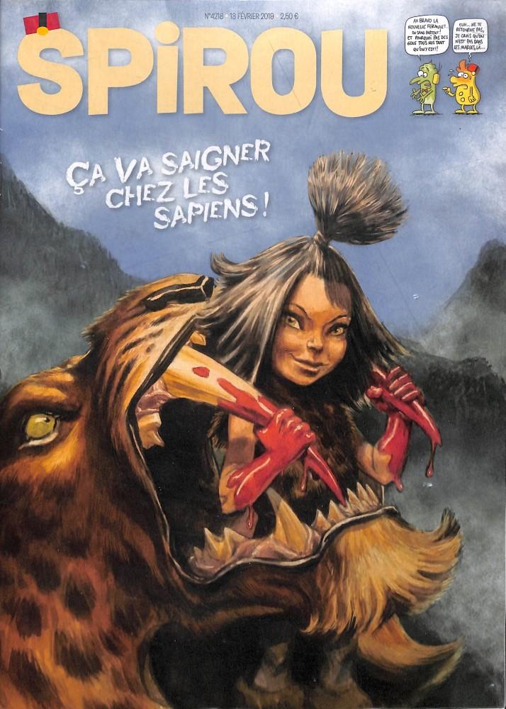 Le journal Spirou N° 4218 Février 2019